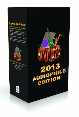 Band-in-a-Box 2013 Audiophile Edition [Old Version, Mac USB Hard Drive]