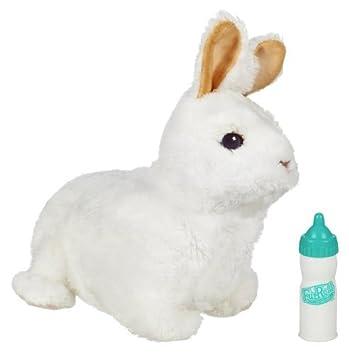 Fur Real Friends Recien nacidos (Hasbro) Conejo - Mascota de peluche bebé con sonido