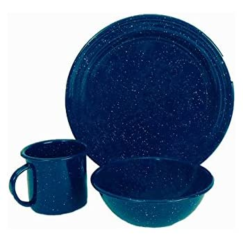 Granite Ware Dinnerware Set 3 Piece