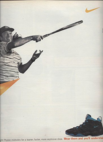 PRINT AD With Andre Agassi For 1995 Nike Air Challenge LWP (Andre Agassi Memorabilia)