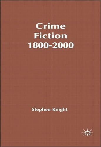 crime fiction 1800 2000 knight stephen