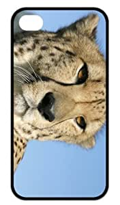 THYde Fashion Cases The eyes of the cheetah Back iPhone 4/4s Cases Cover ending