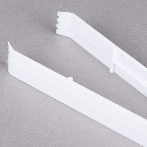Lot de 3Heavy Duty Plastique Pince à Servir–BBQ/fête/buffet–Blanc–23cm (22,9cm)