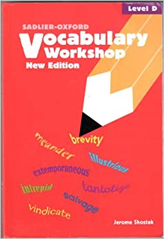 Vocabulary Workshop: Level D: Jerome Shostak: 9780821571095 ...