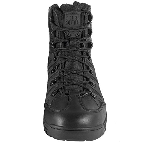 FREE SOLDIER Men's Outdoor Military Tactical Ankle Boots Ultra Combat Mid Hiking Boot