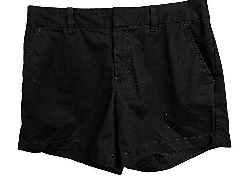 Tommy Hilfiger Women's Twill Chino Shorts, Black, Size 0