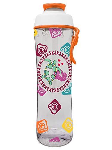 VSCO Girl Water Bottle - SKSKSKSK And I Oop - BPA Free 24 oz. Plastic Bottle - Save the Turtles - Scrunchie Life - Cute & Trendy Designs for Girls - Gifts for Christmas or Birthday (VSCO Girl Stuff)