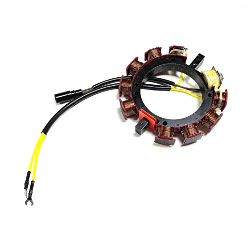 JETUNIT Outboard Stator For Johnson Evinrude OMC Sea Drive 120 140 150HP 35AMP 4 & 6 Cylinder 582654 584291 173-4291 (Omc Stator)