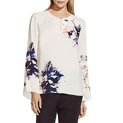 Floral Placement Print Top - 6