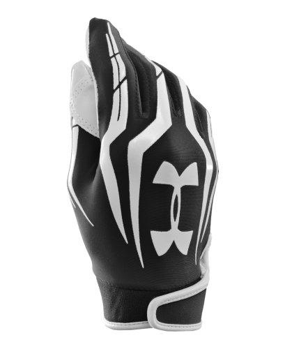 Under Armour Men's UA F3 Full Finger Football Gloves X-Large Black
