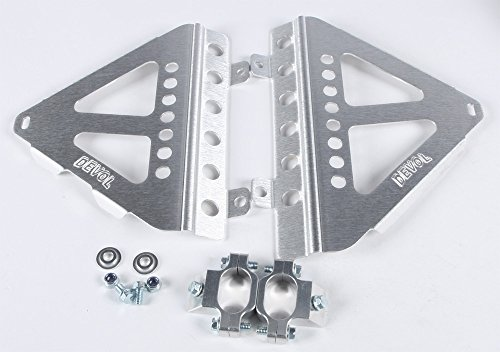 Radiator Braces - 16-17 HONDA CRF250R: Devol Radiator Race Braces