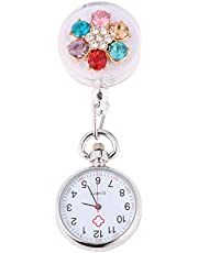 Hemobllo 1Pc Nurse Pocket Watch Brooch Clip On Watch For Nurses Doctors