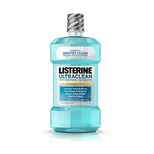 Listerine Ultraclean Arctic Mint Antiseptic Mouthwash, 1.5 L