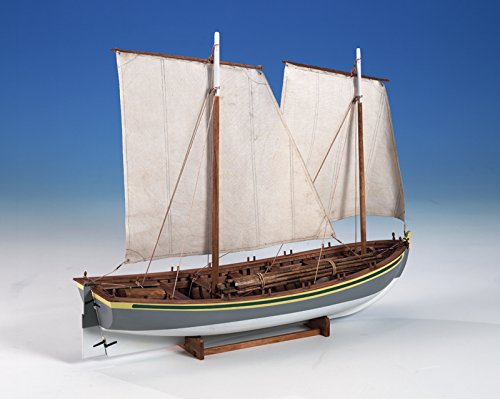 Model Shipways Wood HMS Bounty Launch 1:16 Plank-on-Frame Kit MS1850 - Model Expo - Hms Bounty Wood