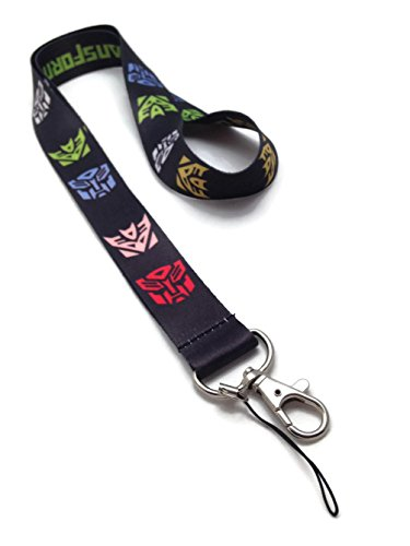 Transformers Black Reversible Lanyard Holder product image