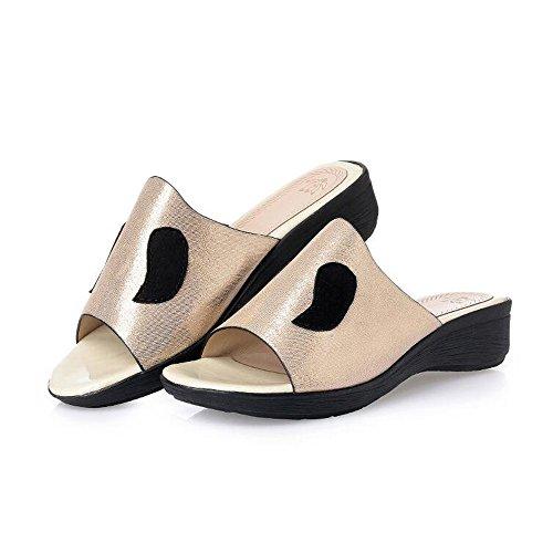 Un e store con Fondo Sandali Shoe Piatto Antiscivolo Ciabatte Sandali Sandali Donna Aperta Pendenza con di di Ciabatte per da Dimensioni Estivi Donna Tipo Bocca Grandi 0dqnSd6