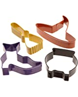 Wilton Witch 4 Piece Colored Cutter Set- Discontinued By Manufacturer