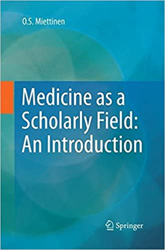 Book Medicine as a Scholarly Field: An Introduction