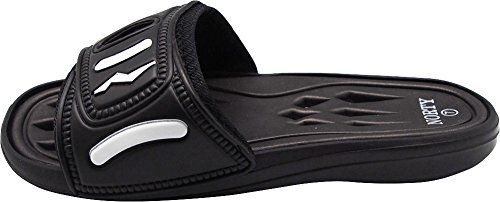 Slide Shower Shoe for Drying Mens Pool Drainage Black NORTY Sandals Beach Quick SwxZUEqF