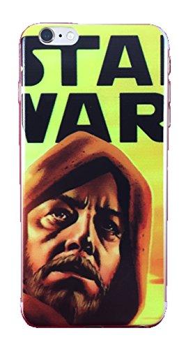 Star Wars Thin Flexible Iphone 6/6s Plus Case (Obi Wan Kenobi)