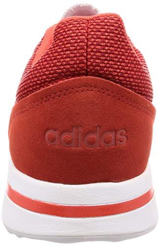 De Run70s Hombre Zapatillas res scarlet Red ftwr res hi Adidas Para Rojo White Hi Deporte White S18 scarlet gEXqwqd
