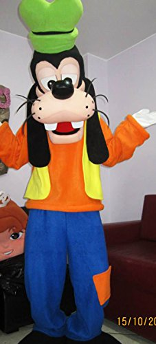 [Goofy Mascot Costume] (Mickey And Minnie Costumes Adults)