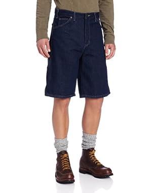 Men's Big 11 Inch Denim Carpenter Short