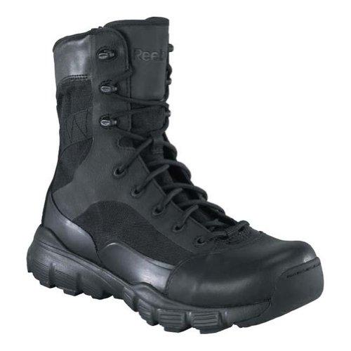 REEBOK DUTY Mens 8 Dauntless Seamless Combat Boot (Black 8.5 M) RJ65Nd0mz