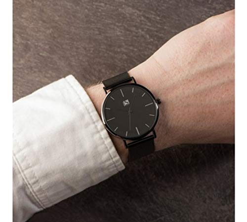 Spirit Mens Analogue Classic Quartz Watch with Stainless Steel Strap ASPG22