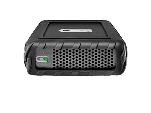Glyph BlackBox Pro 10TB Rugged Desktop External Hard Drive with USB-C Connection - Compatible with Mac OS X, Windows, USB 3.0/2.0, Thunderbolt 3, Time Machine (Top Ten External Hard Drives For Mac)