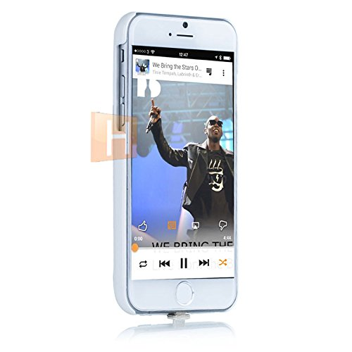 HSRpro® UltraSlim Back Cover con forza 2800mAh batteria/batteria/batteria per iPhone 64,7Custodia protettiva Custodia Case Cover di alta qualità In Bianco In Hamburg