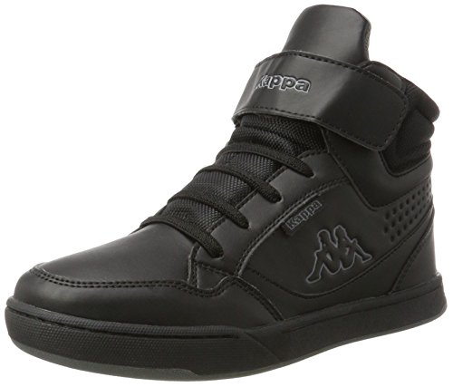 Hautes Kappa Noir Mixte Teens Baskets Mid Black 1111 Forward Enfant wBxrq6BaIW