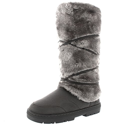 Womens Fixed Lined Winter Boots