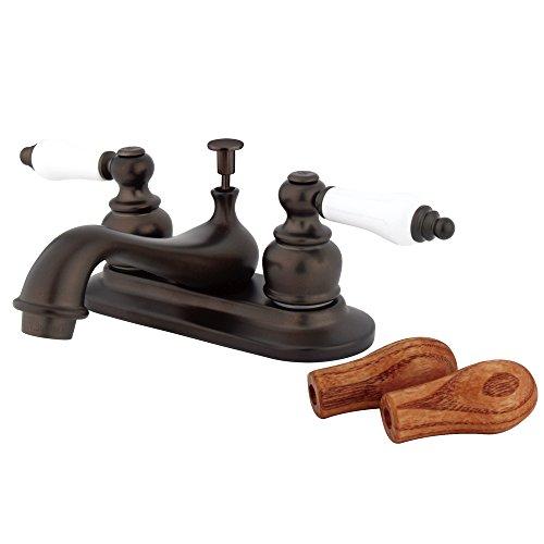 Bronze 4 Inch Lavatory Faucet - 8