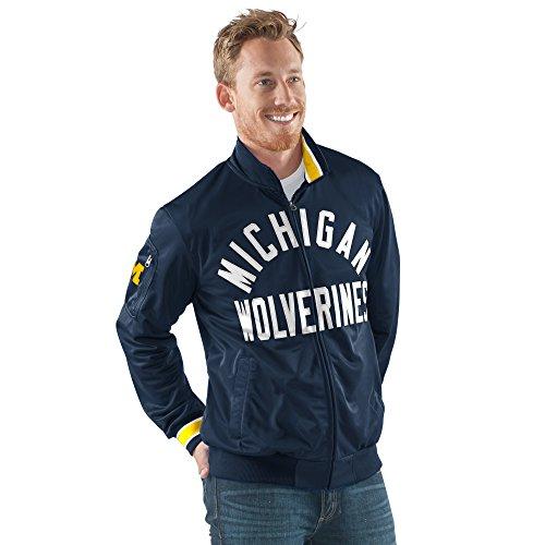 NCAA Herren Contender Full Zip Track Jacket, herren, G-III Sports Contender Full Zip Jacket, navy, Medium