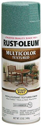 Rust-Oleum 239119 Multi-Color Textured Spray, Sea Green, 12-Ounce (Paint Patio)