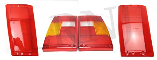 LAND ROVER RANGE ROVER CLASSIC 1987 - 1995 REAR LIGHT LENS COMPLETE SET LH & RH PART: RTC5294 / RTC5295 / RTC5551 / RTC5552 (1995 Range Rover)