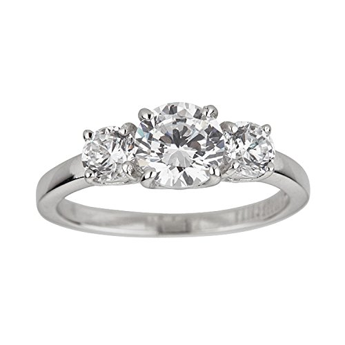 three stone engagement ring - 6