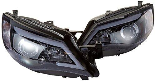 Spec-D Tuning 2LHP-WRX08G-TM Glossy Black Impreza Outback Sport WRX LED DRL Projector Headlights ()