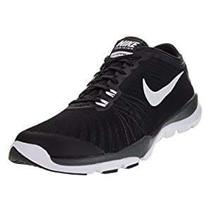 NIKE Women's Flex Supreme TR 4 Black/White/Anthracite/Stealth Training Shoe 8.5 Women US