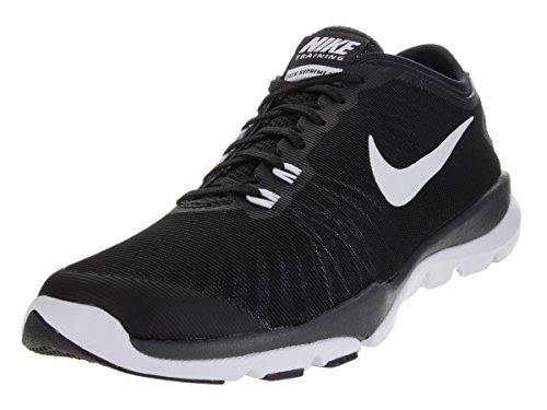Nike Frauen Flex Supreme TR 4 Cross Trainer Schwarz / Weiß / Anthrazit / Stealth
