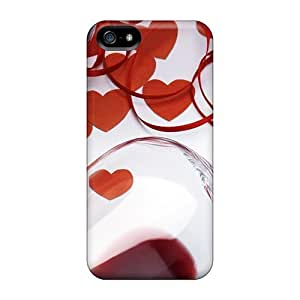 Hard Plastic Iphone 5/5s Case Back Cover,hot Valentine's Day Case At Perfect Diy