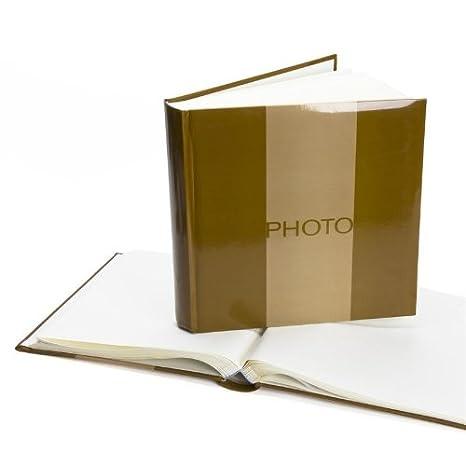 30x30 cm Grün 80 weiße Seiten Jumbo-Album Blossom