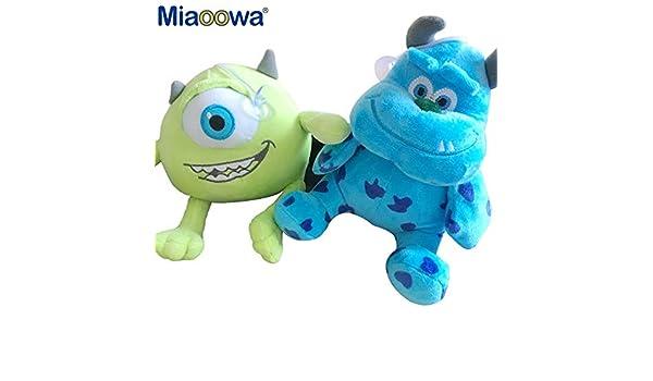 Monstruos - Set 2 Peluches 20 cm / 2 Stuffed Plush Toy 8