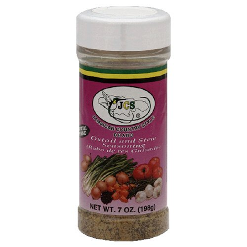 JCS Oxtail &  Stew Seasoning , 7-Ounce Pouch