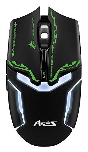 9f6cc43ed97 Dragonwar ELE-G10 Aries Blue Sensor Gaming Mouse with Macro Function (Black)