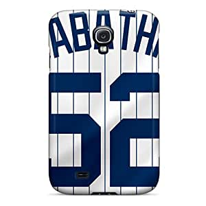 Galaxy S4 Hard Back With Bumper Silicone Gel Tpu Case Cover New York Yankees