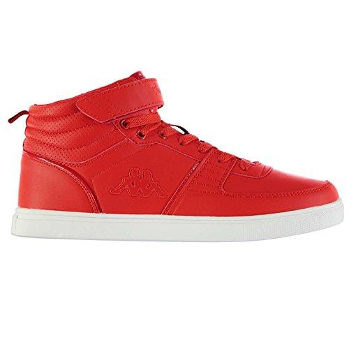 Kappa Aria Mid Top Sneaker Herren Rot sportschuhe Sneakers Schuhe