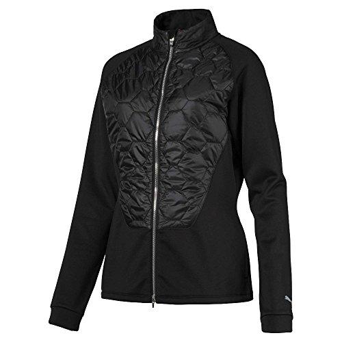 Puma Golf Women's 2018 Dassler PWR Warm Jacket, Small, Puma Black (Dassler Puma)