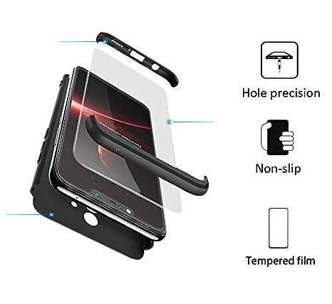 BESTCASESKIN Funda Samsung Galaxy S7 Edge, Carcasa Móvil de Protección de 360° 3 en 1 Desmontable con HD Protector de Pantalla Carcasa Caso Case Cover ...